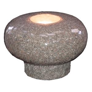 Polished mushroom